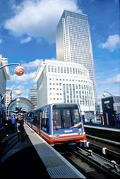 [The Dockland Light Railway]